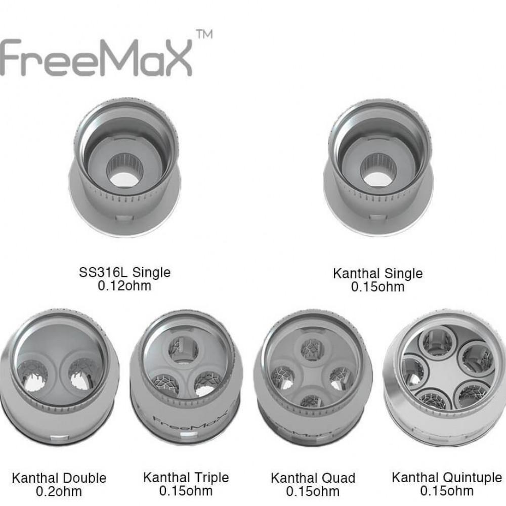 كويلات فري ماكس ميش - Free Max Mesh Coils - كويلات شيشة فيب السعودية