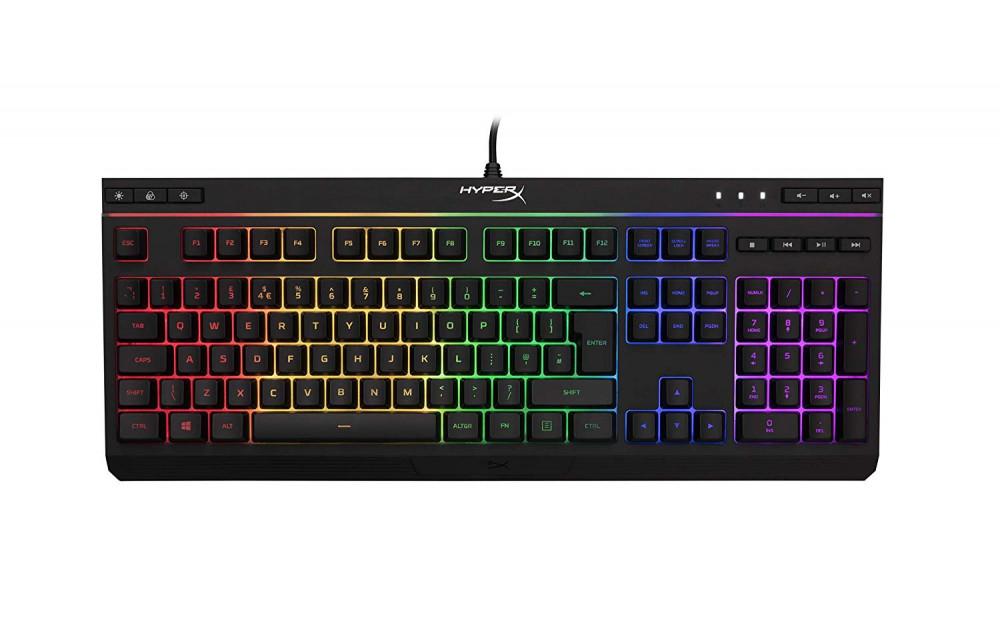 HyperX HX-KB5ME2-UK Alloy Core RGB Membrane Gaming Keyboard