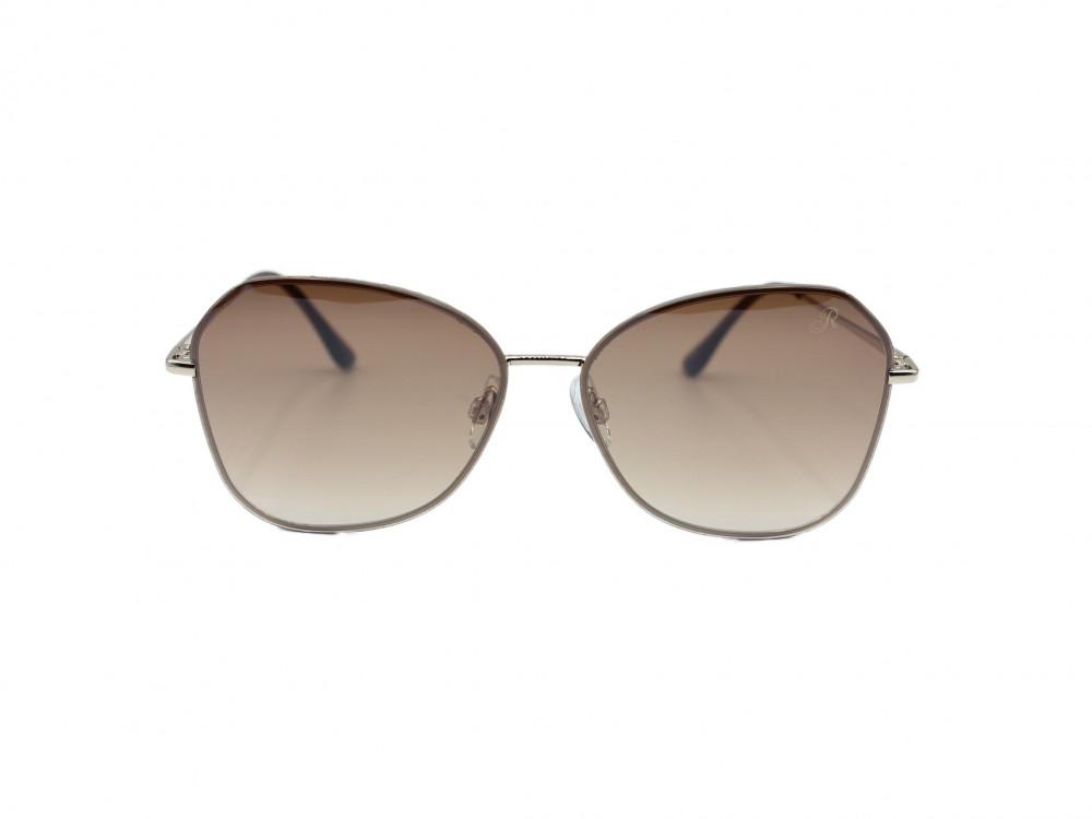 نظارة شمسية  مربعه من ماركة RETRO لون العسه بني مدرج نسائية مظهر انيق