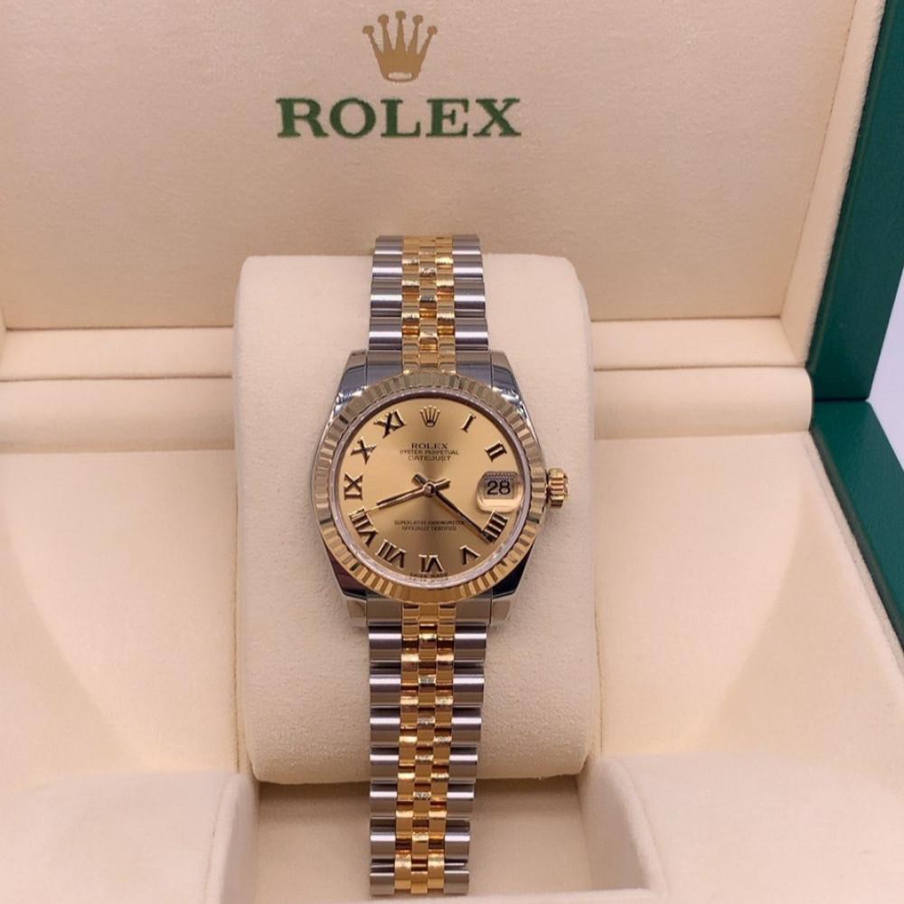 ساعة رولكس ديت جست أصلية مستعملة