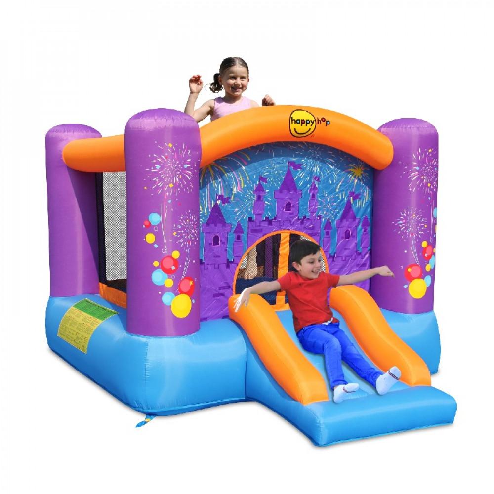 هابي هوب قلعة, الألعاب, النطاطة مع زحليقة, Jumping Castle