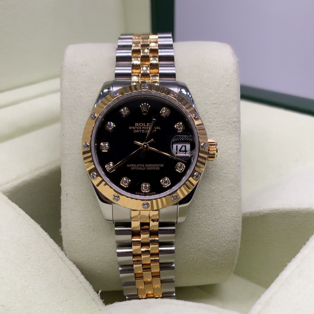 ساعة رولكس الأصلية الثمينة مستخدمة