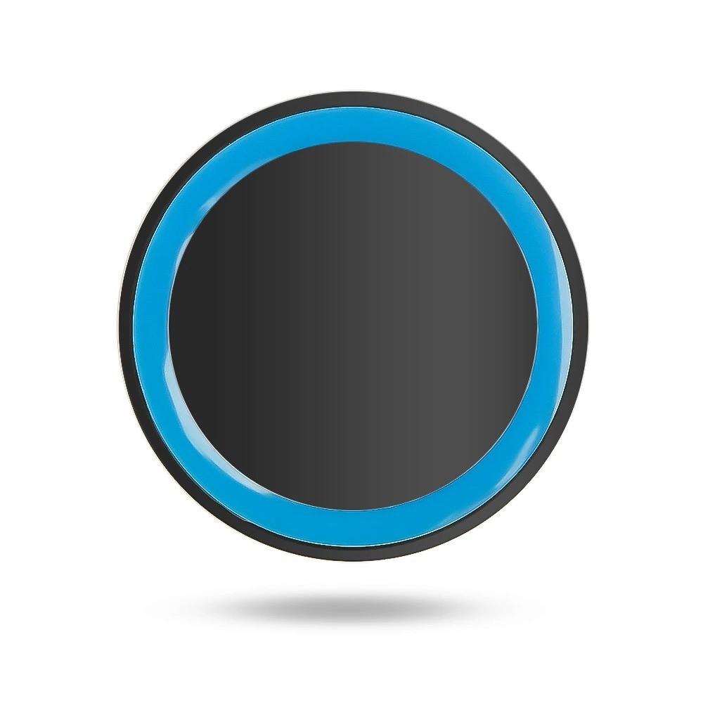 شاحن لاسلكي مفرد بقوة 5 واط يدعم الشحن السريع لجميع الهواتف الذكية