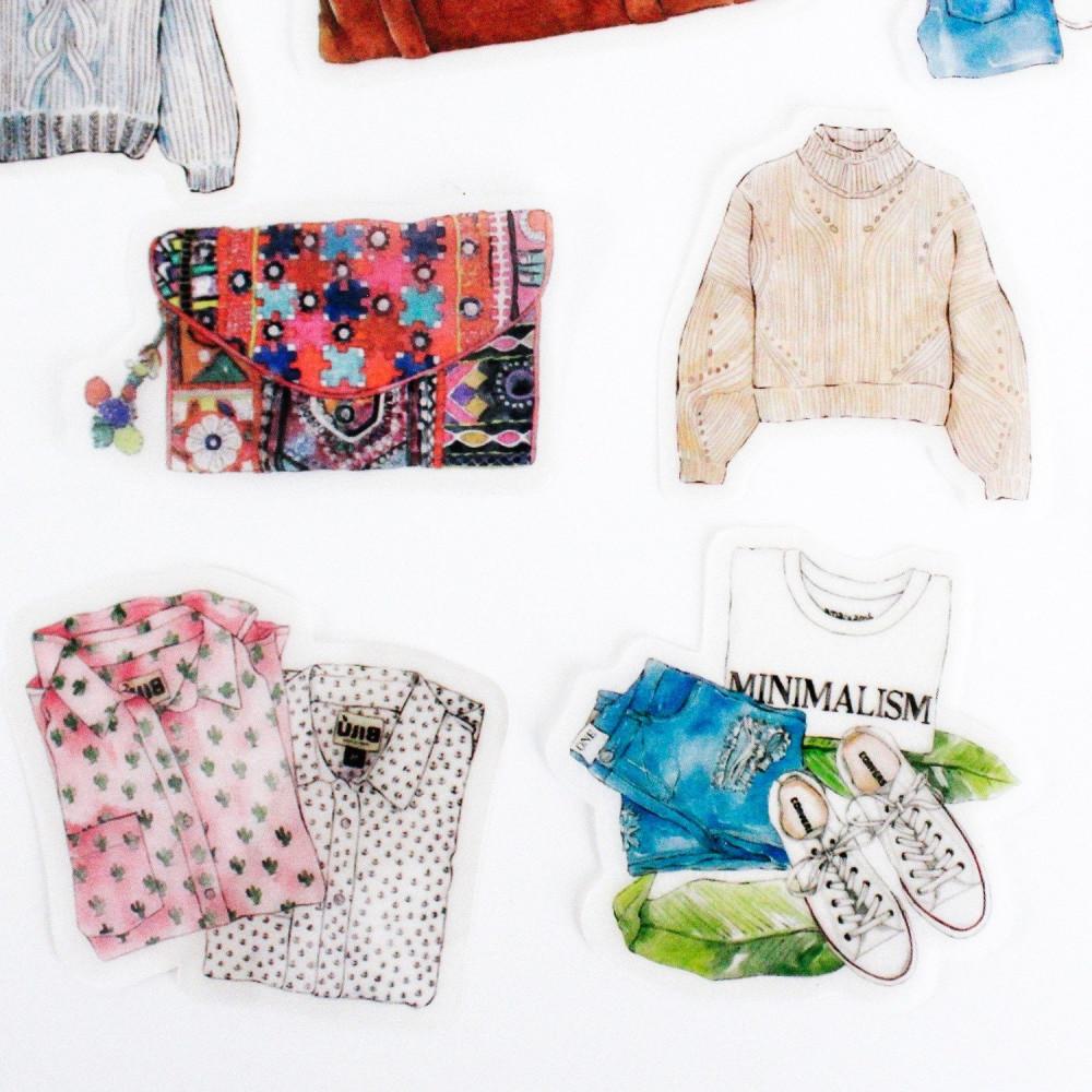 ستيكر ستيكرات لابتوب أدوات كولاج ملابس سويتر أجندة متجر قرطاسية