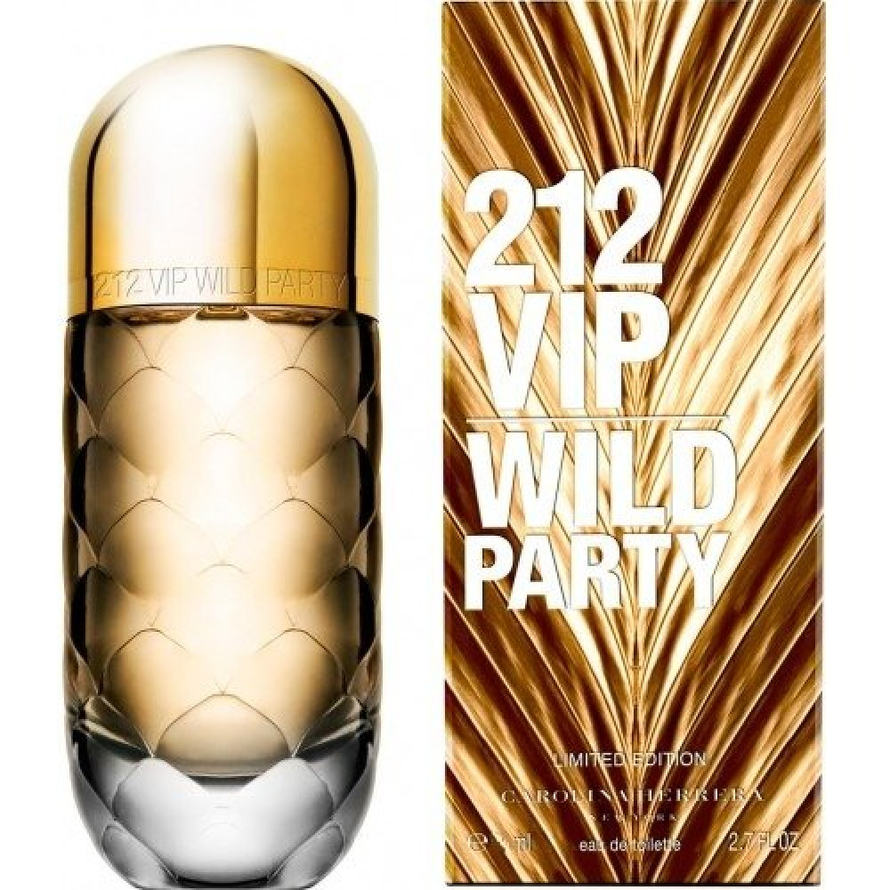 Carolina Herrera VIP 212 Wild Party for Woman Parfum 100ml خبير العطور
