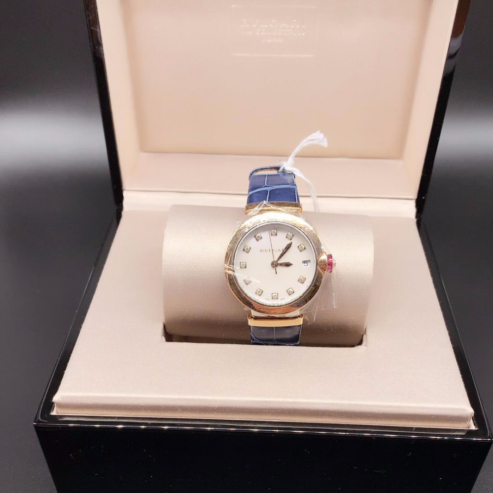 ساعة بولغري لوسيا الأصلية الفاخرة جديدة