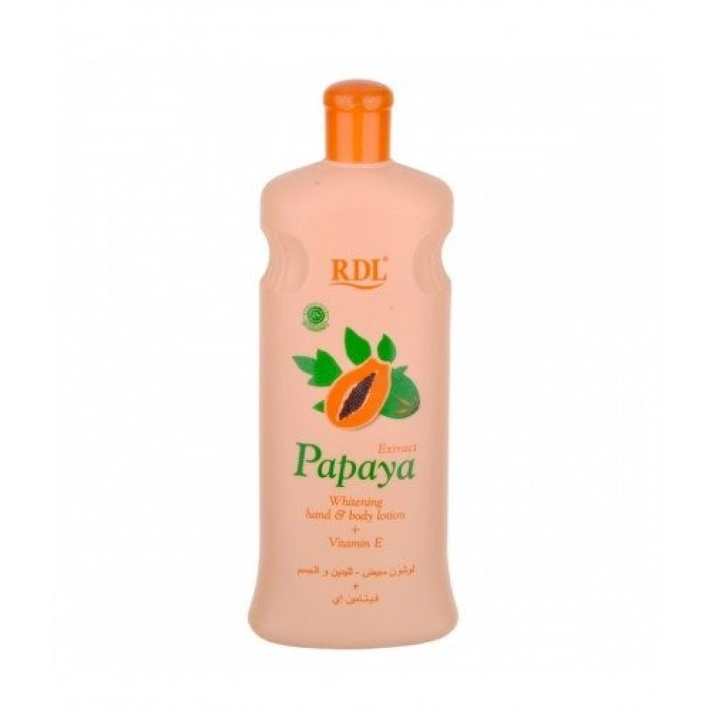 Papaya Extract Whitening Hand Body Lotion Vitamin E متجر خبير العطور