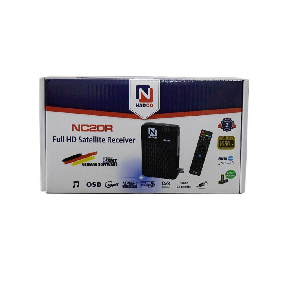 نادكو رسيفر/جهاز استقبال الأقمار الصناعية NC20R