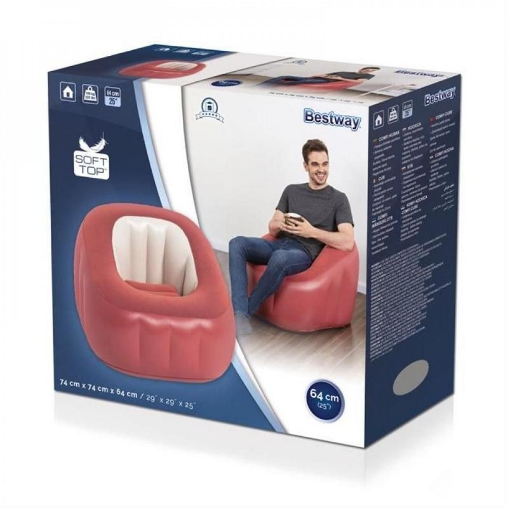كرسي هوائي احمر