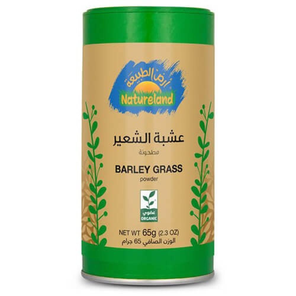 عشبة الشعير مطحون عضوي 65 جرام
