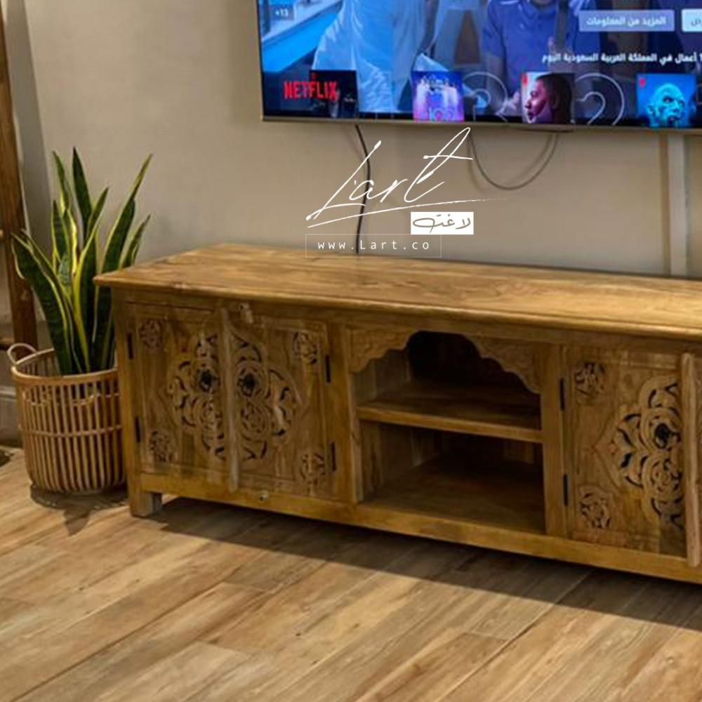 افضل طاولات خشب تلفزيون - متجر لاغت