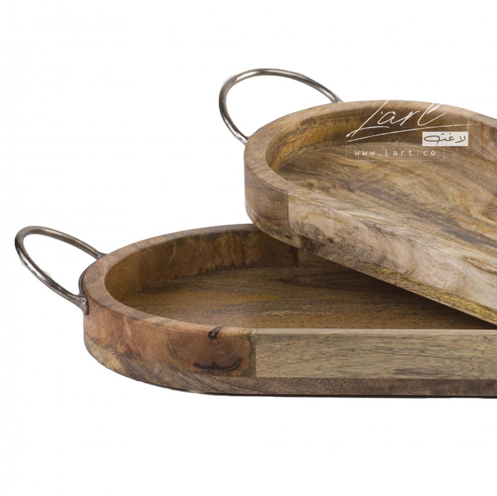 أفضل طقم صوانى خشب تقديم - متجر لاغت