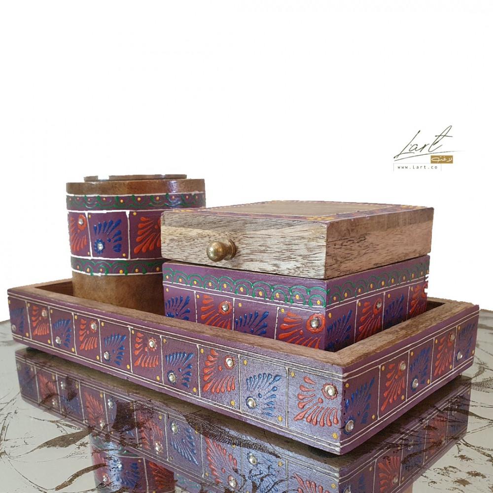 شراء مبخر خشبي صغير - متجر لاغت