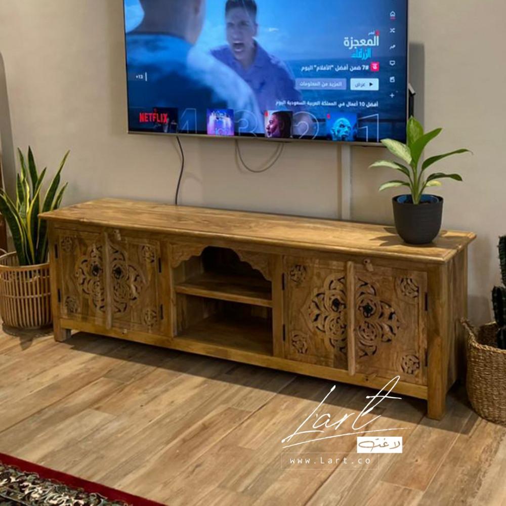 طاولات خشب تلفزيون - متجر لاغت