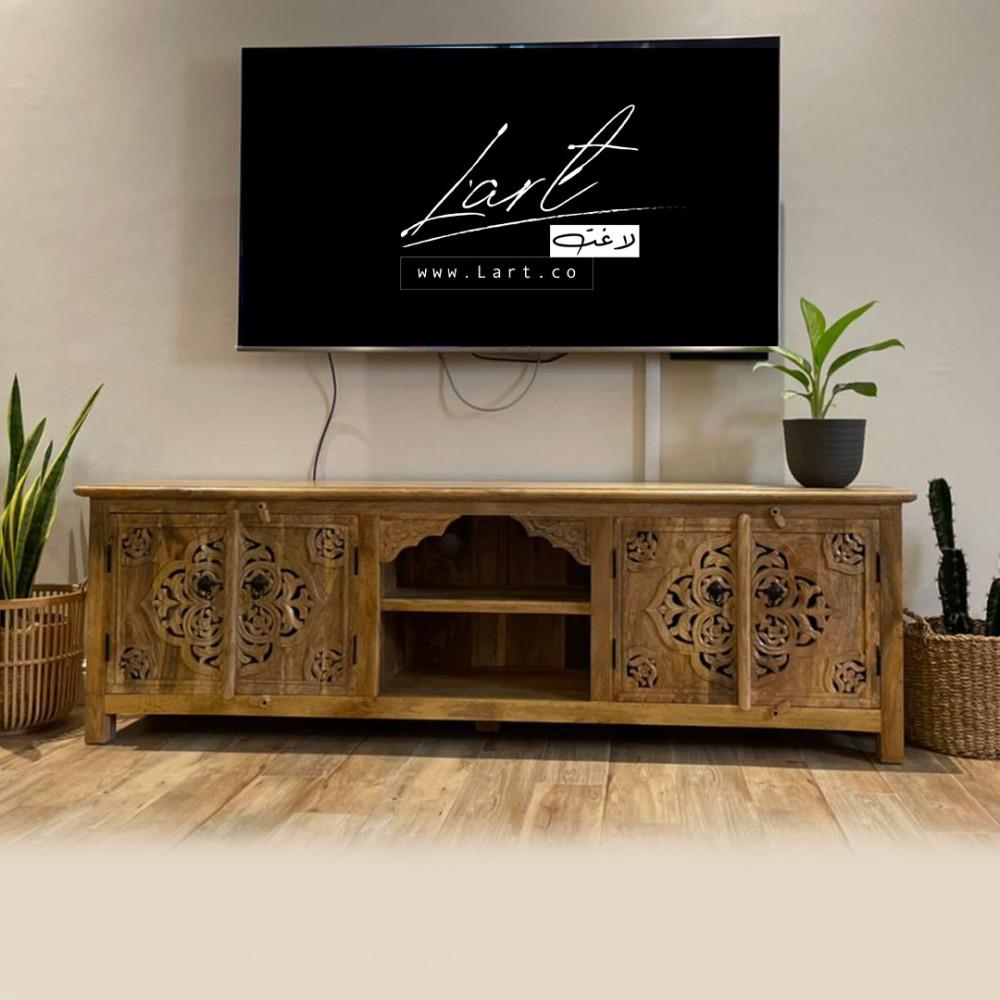احلى طاولات خشب تلفزيون - متجر لاغت