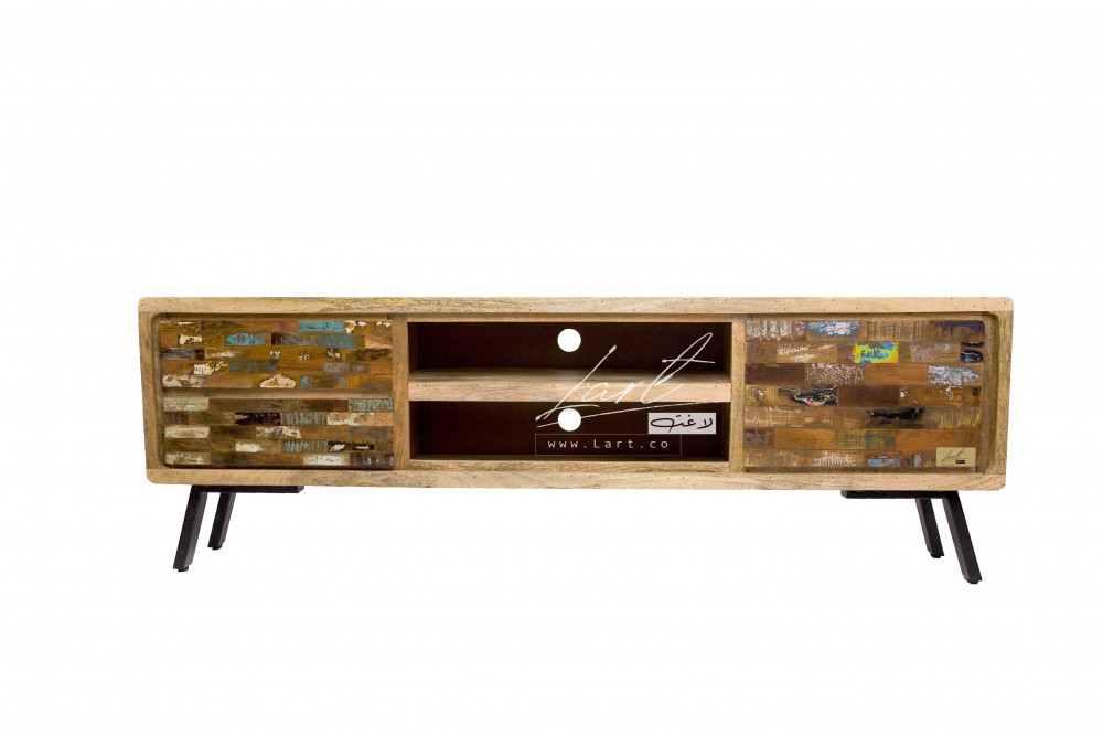 احسن طاولات خشبيه للتلفزيون - متجر لاغت