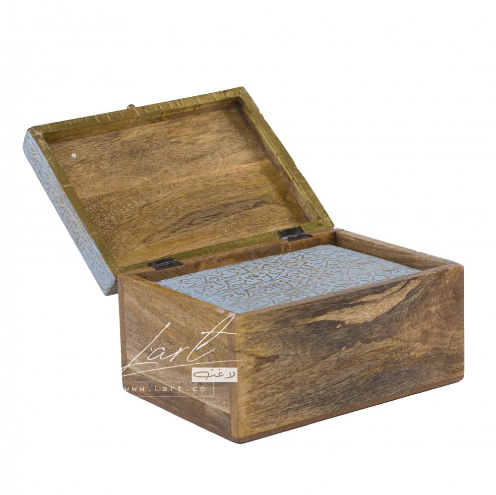 صناديق علب خشب للهدايا - متجر لاغت