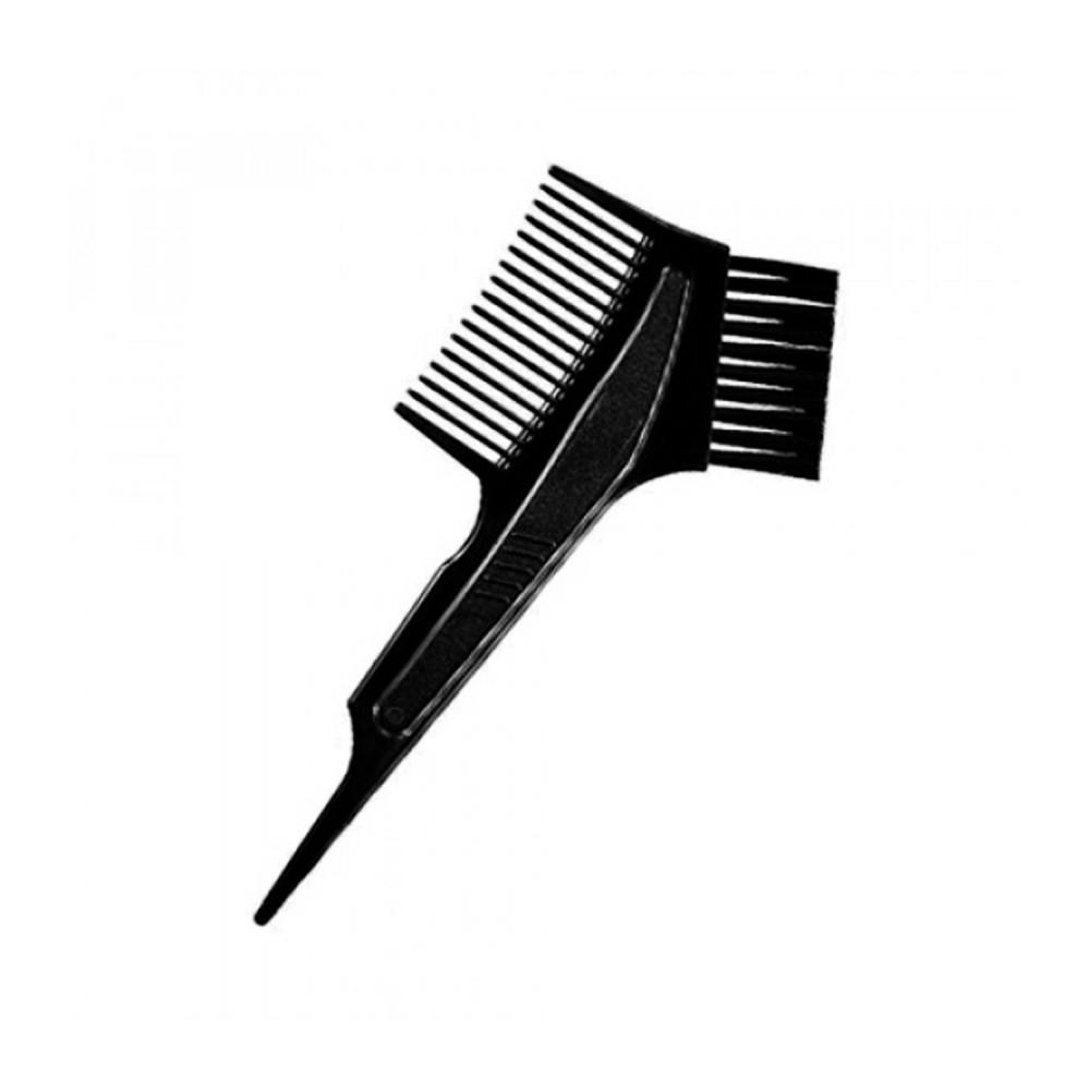 أدوات صبغة الشعر فرشاة مشط لتوزيع صبغة الشعر طريقة صبغ الشعر في البيت