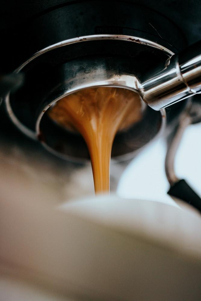drip on espresso