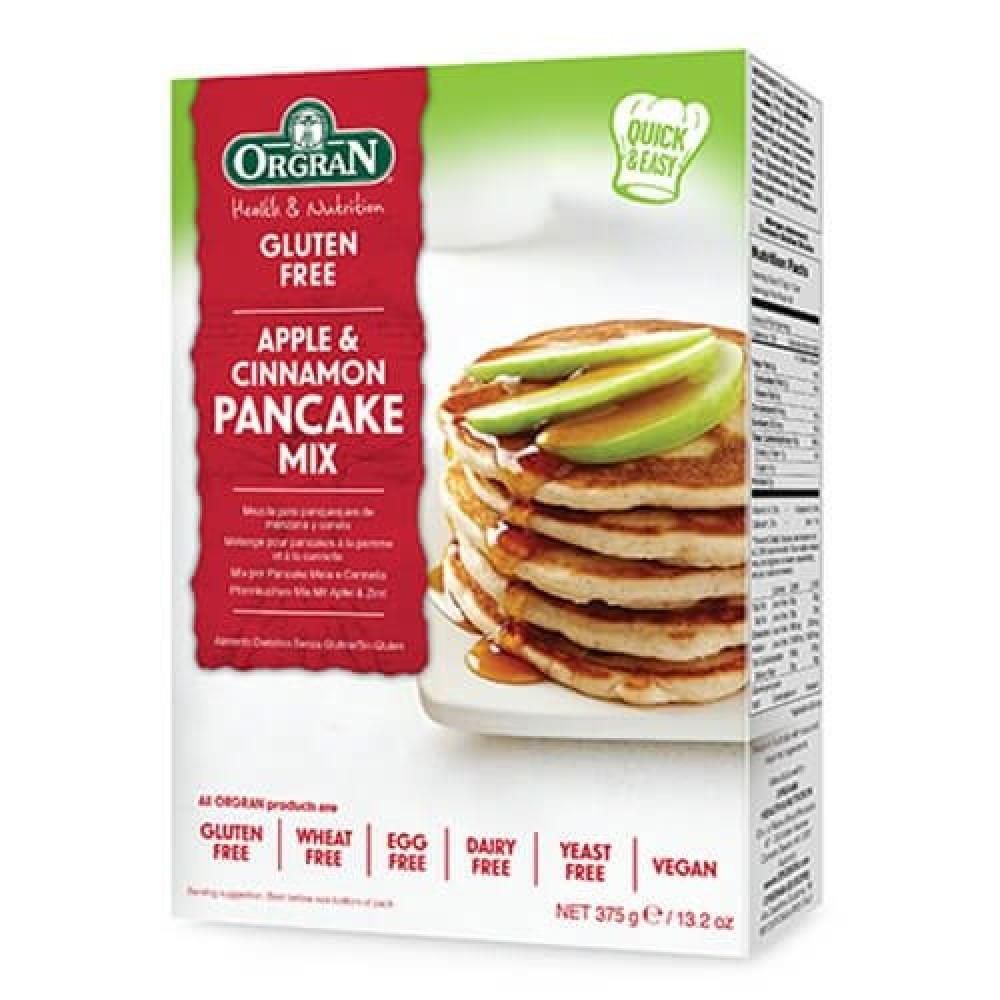 خليط بانكيك التفاح والقرفة خالي من الجلوتين 375 جرام