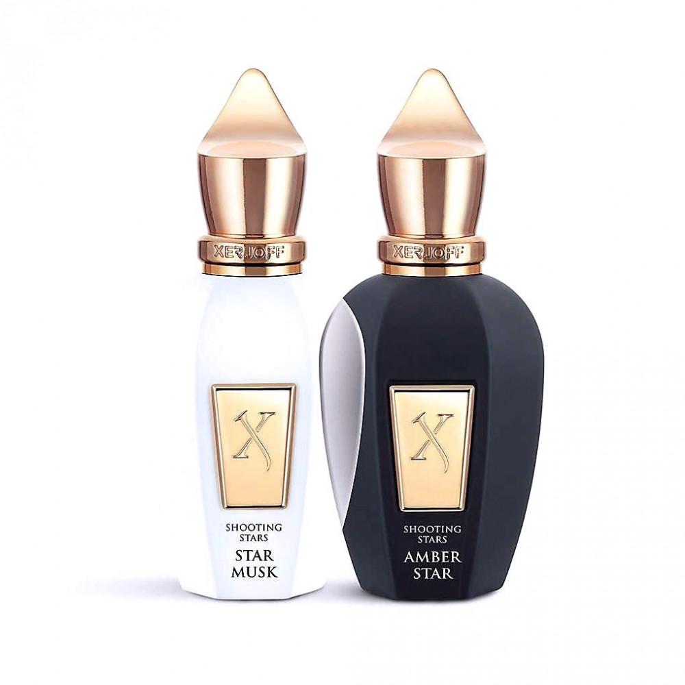 طقم عطور  زيرجوف عنبر ستار و ستار مسك Xerjoff perfume set Amber star