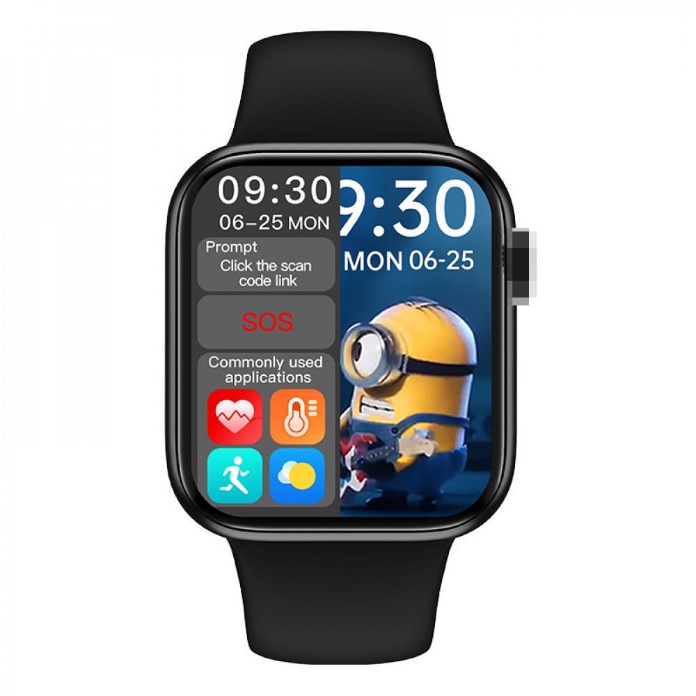 ساعة ذكية ابل hw16 شاشة كاملة