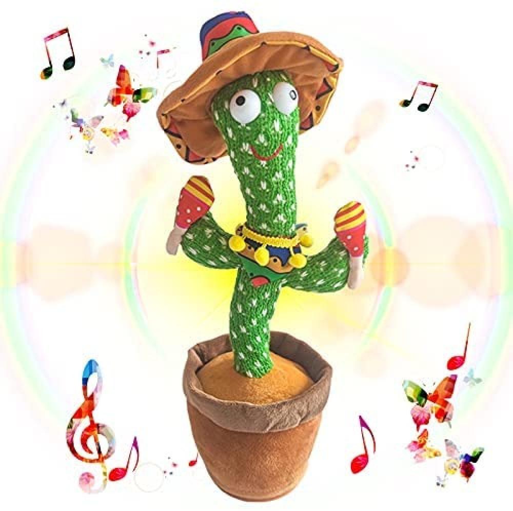 لعبة نبتة الصبار الراقصة cactus toy اطفال ديكور