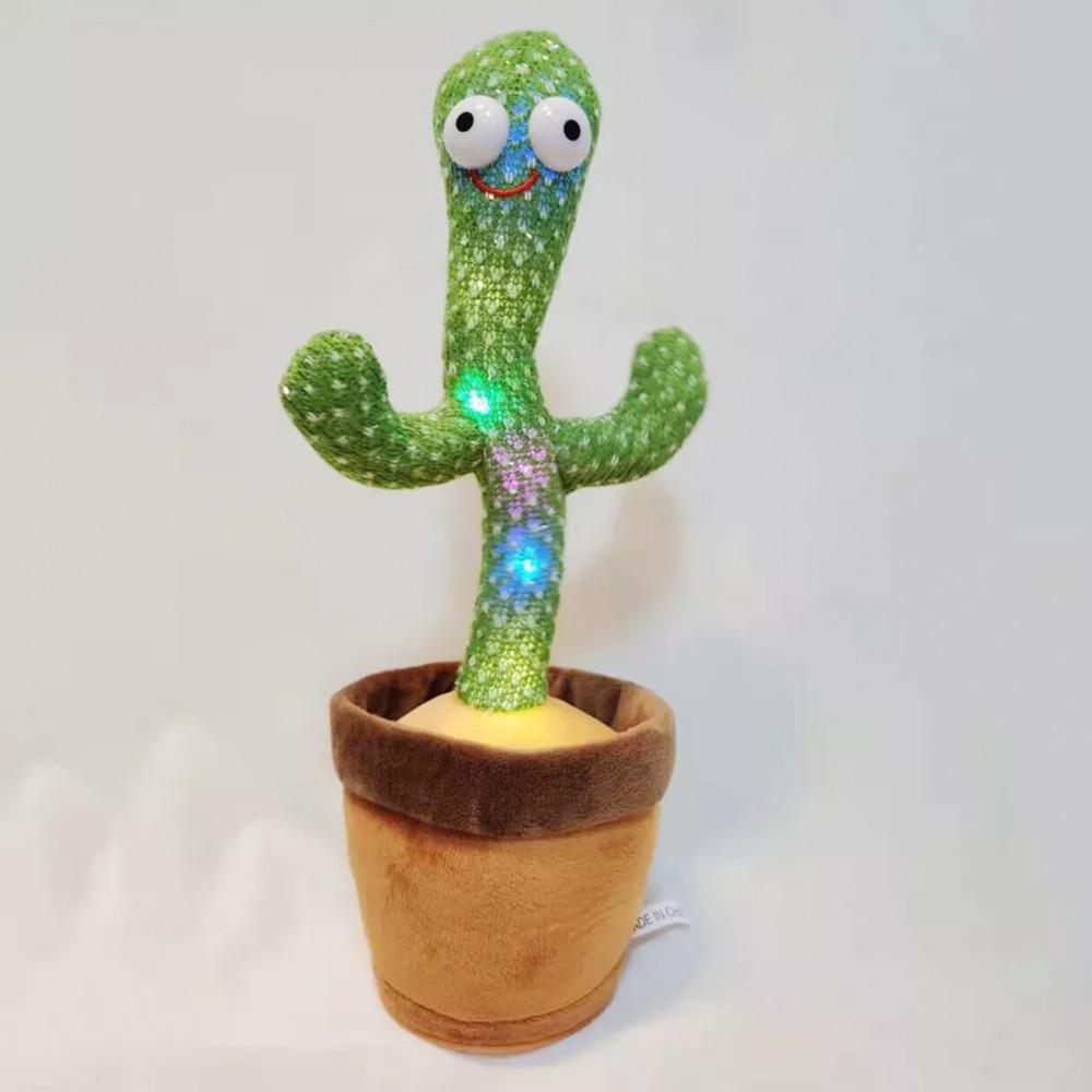 نبتة الصبار الراقصة والمتكلمة اطفال العاب ديكور cactus