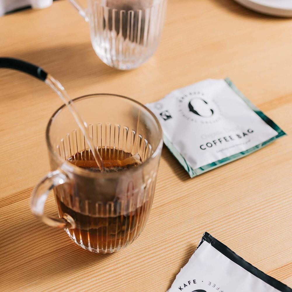 كروكافيه  أكياس القهوة السوداء ديكاف