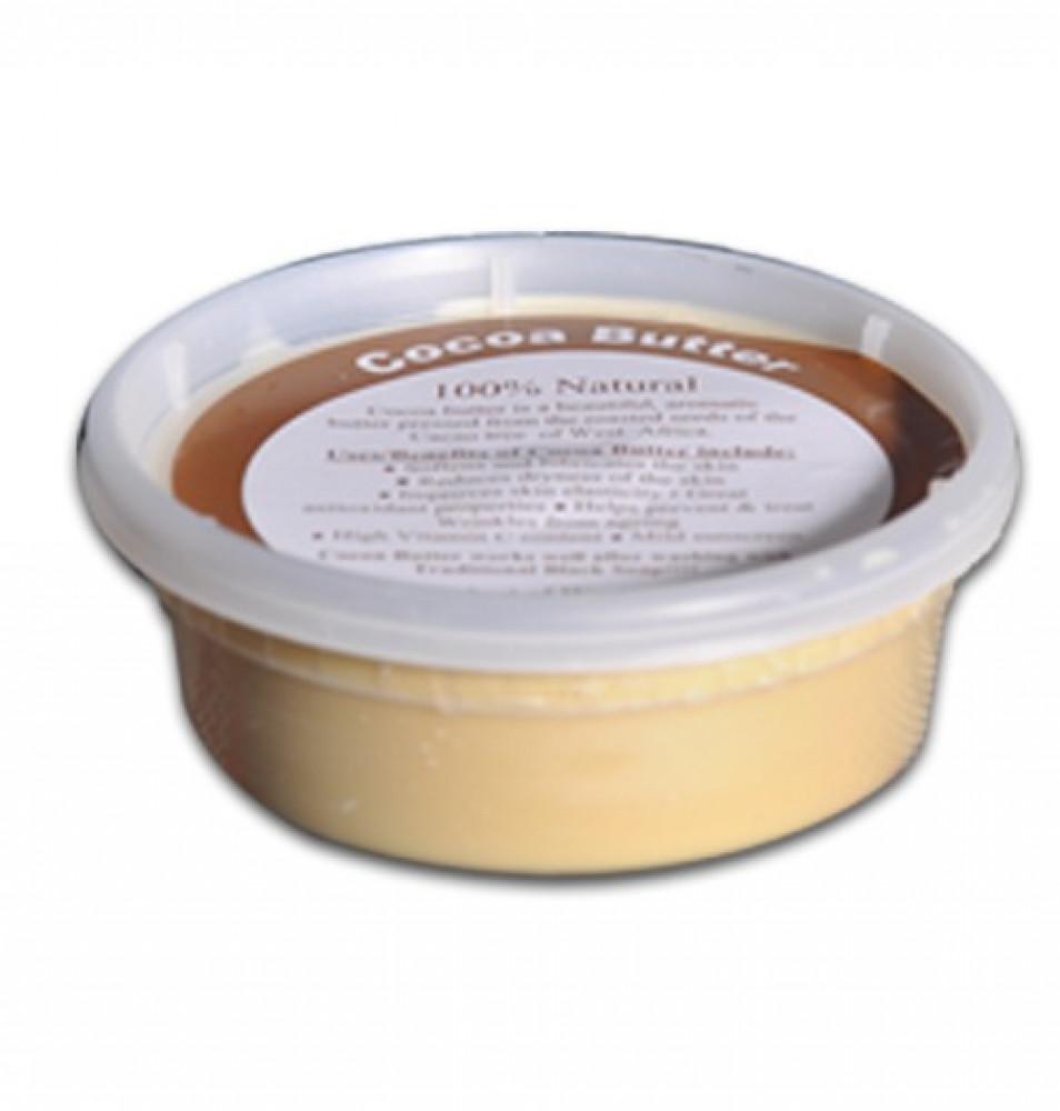 زبدة الكاكاو الطبيعية حجم 220 جرام زبدة الكاكاو زبدة كاكاو للجسم COCOA