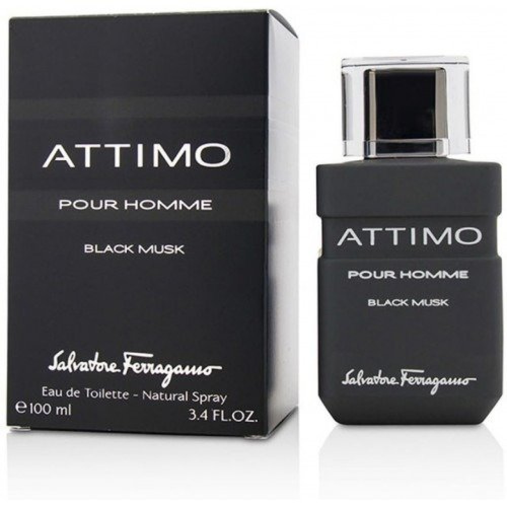 Salvatore Ferragamo Attimo Black Musk Eau de Toilette 100ml متجر خبير