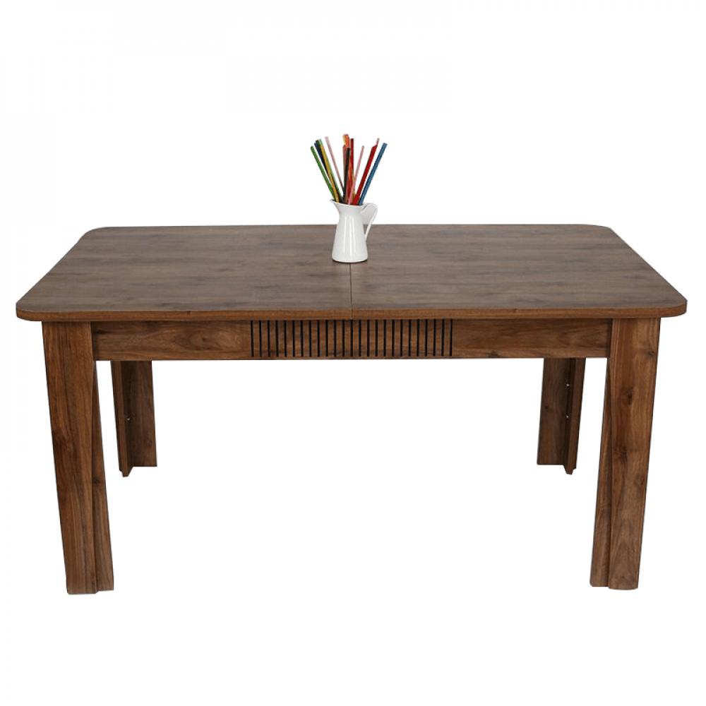 طاولة سفرة تركي موديل أمالفي فخمة بتصميم مودرن من الخشب الطبيعي