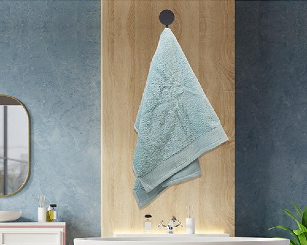 منشفة ضيوف لونها تيفاني تستخدم للوجه او اليدين