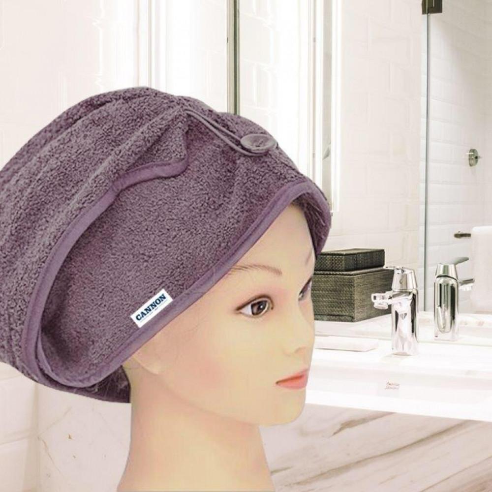 منشفة رأس نسائيه لونها بنفسجي