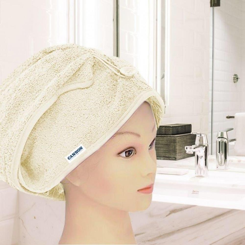 منشفة رأس نسائيه لونها سكري