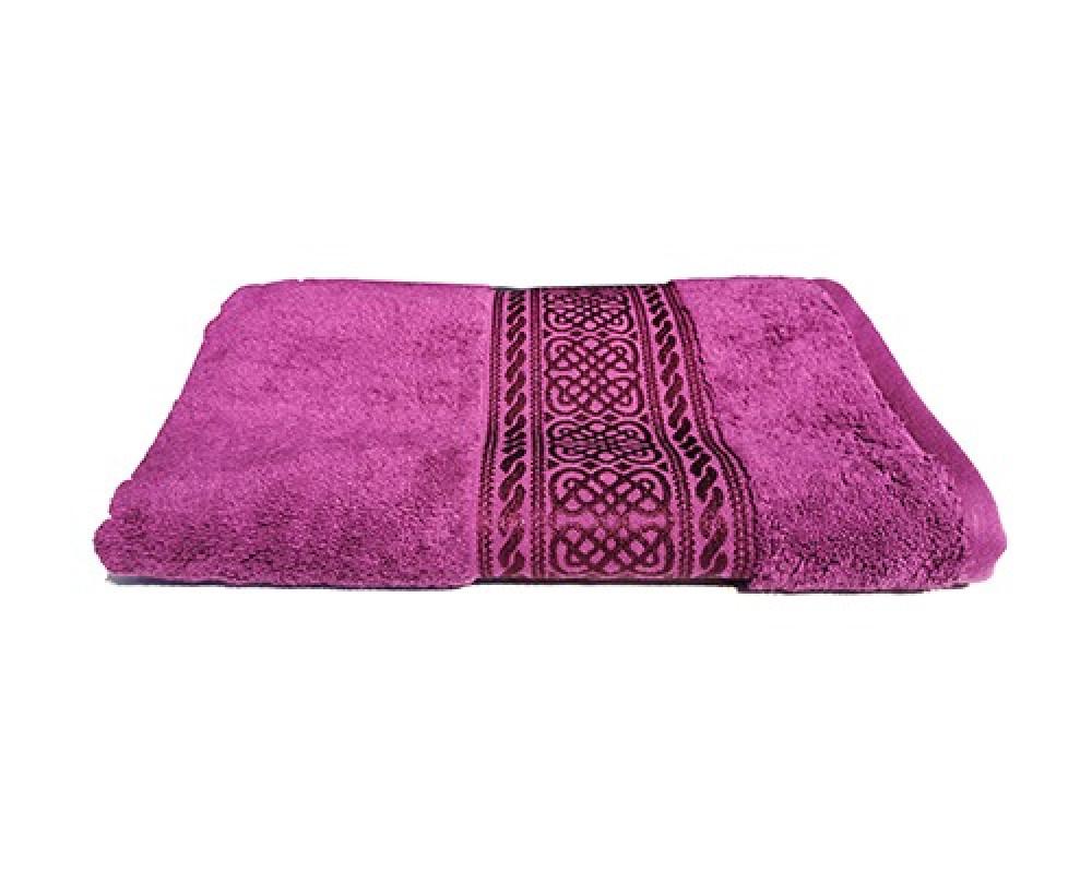 منشفة استحمام للجنسين لونها بنفسجي