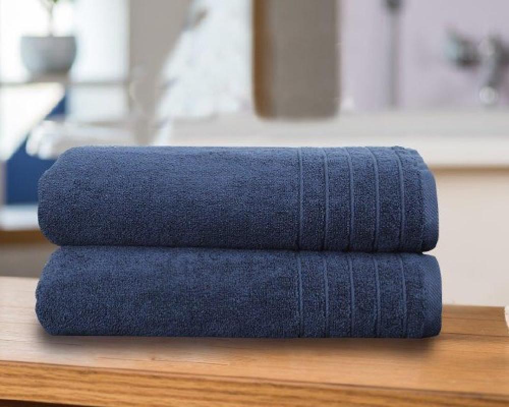 منشفة استحمام للجنسين لونها ازرق