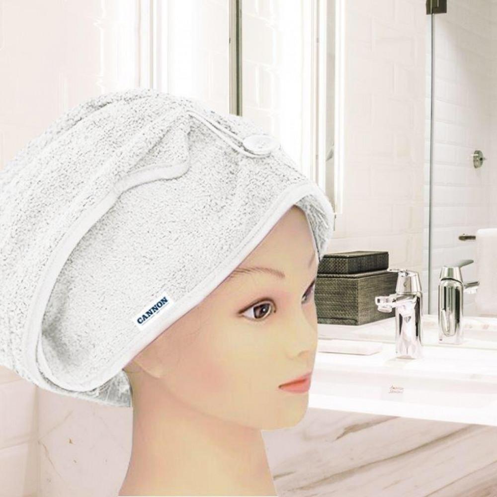 منشفة رأس نسائيه لونها ابيض