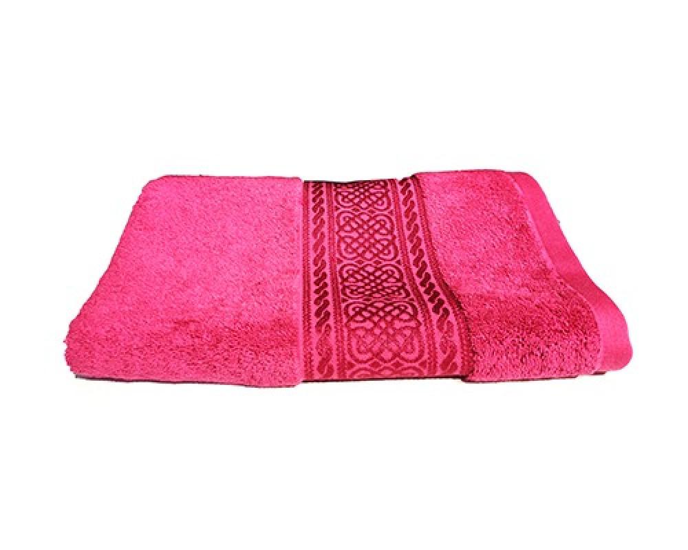 منشفة استحمام للجنسين لونها فوشي