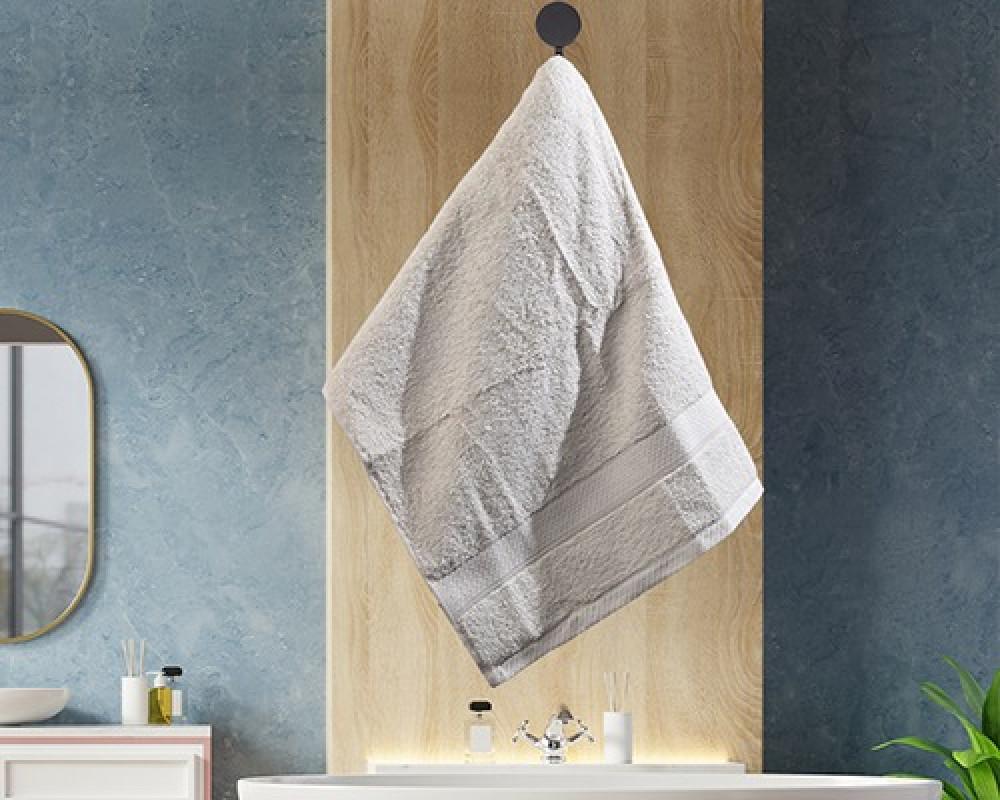 منشفة ضيوف لونها اوف وايت تستخدم للوجه او اليدين