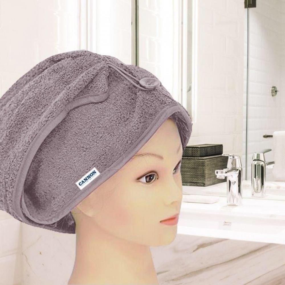 منشفة رأس نسائيه لونها موف
