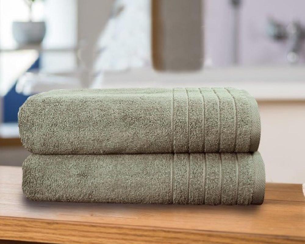 منشفة استحمام للجنسين لونها اخضر