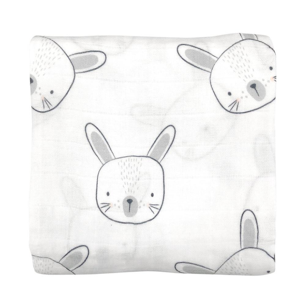 لفة من قماش الموسلين بتصميم أرنب من ماركة Mister Fly من دوها