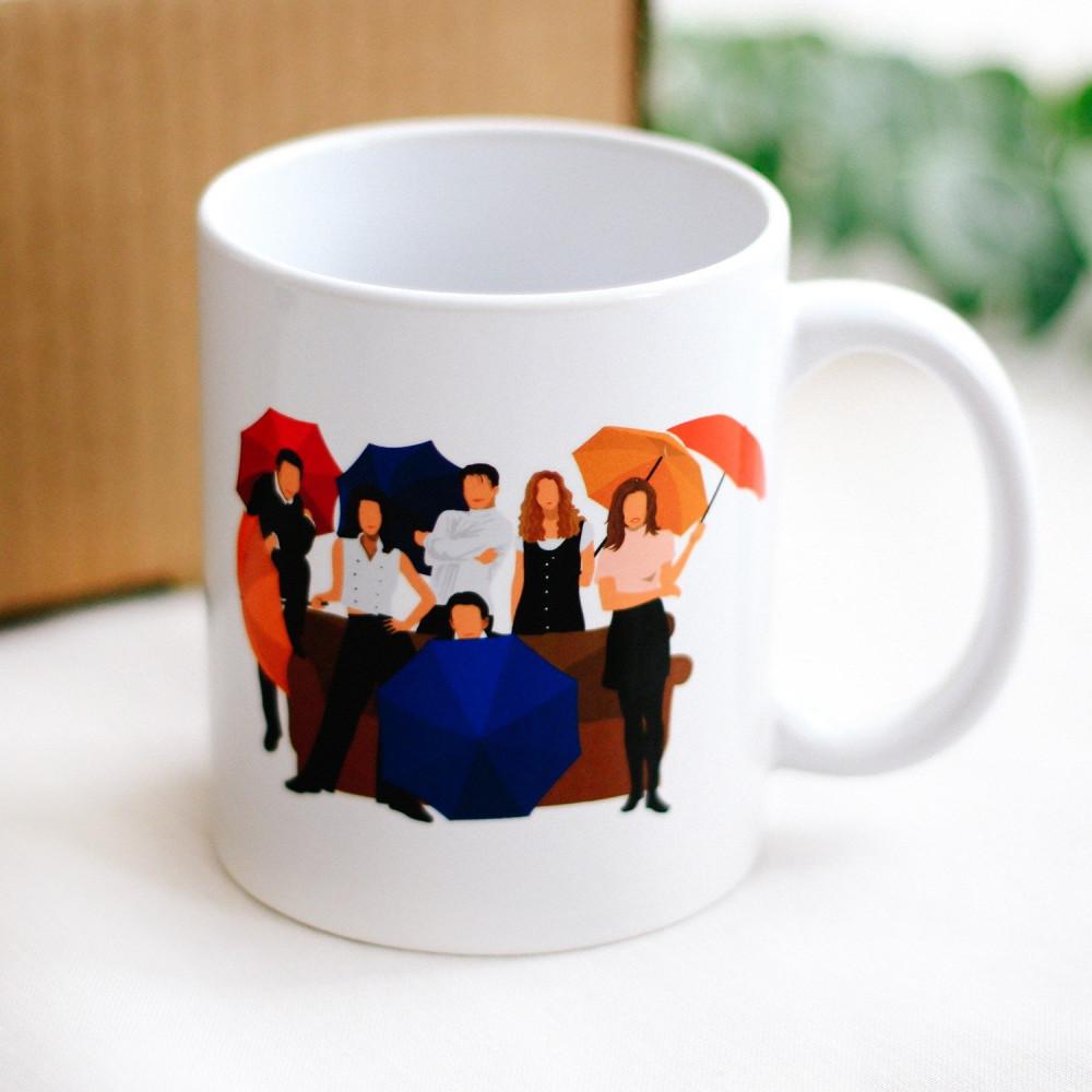 صندوق هدية لعشاق مسلسل فريندز مونيكا هدايا شخصيات كوب مسلسل فريندز