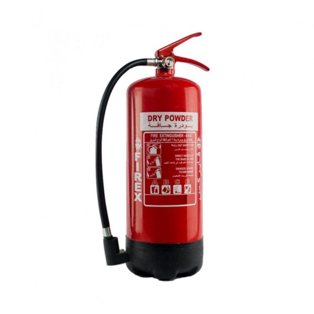 طفاية حريق بودرة 6 كجم - متجر وقاء