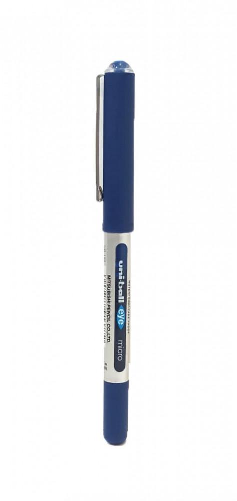 قلم سائل أزرق Uni Ball 0 5 صناعة يابانية مكتبة ريڤا