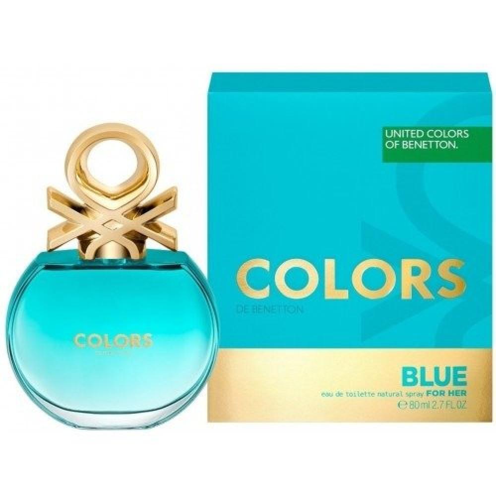 Benetton Colors de Benetton Blue Eau de Toilette 80ml خبير العطور