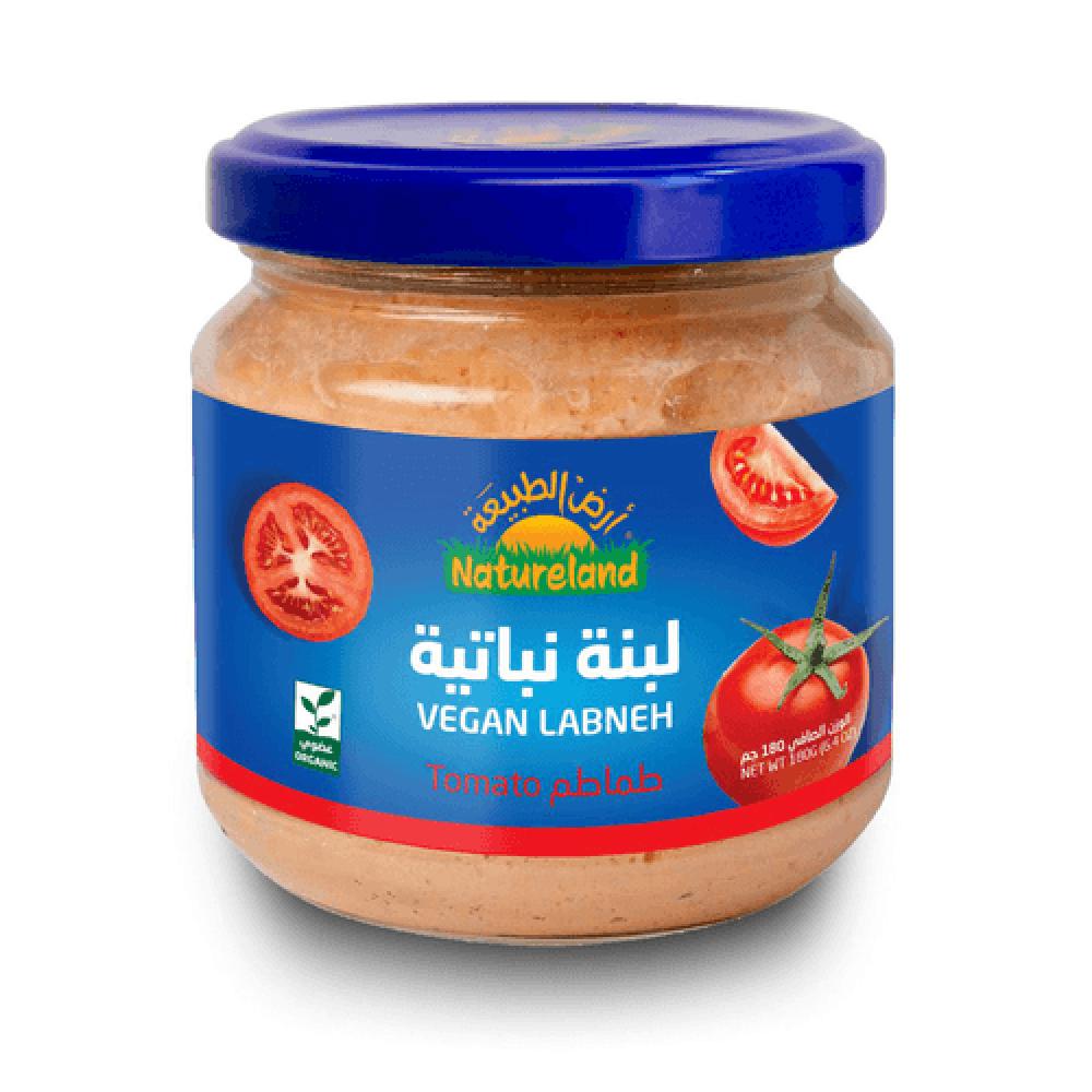 لبنة نباتية بالطماطم 180 جم عضوي