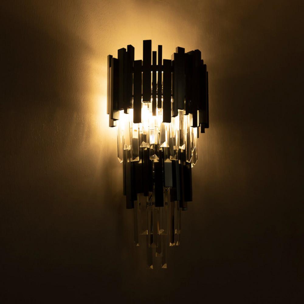 اضاءة جدارية ستايل اوربي رمادي دورين - فانوس