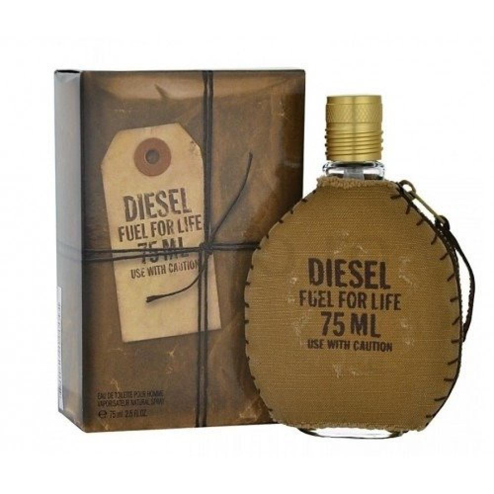 Diesel Fuel for Men Life Eau de Toilette 75ml خبير العطور